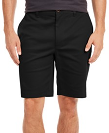 Tasso Elba Men's Twill Stretch Shorts, Created for Macy's