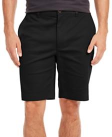 Tasso Elba Men's Twill Stretch Shorts, Created for Macy's
