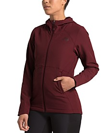 Women's Shelbe Raschel Hooded Active Jacket