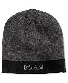 Men's Reversible Logo Beanie, Created for Macy's