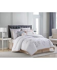 Riva Cotton Printed King 4 Piece Comforter Set