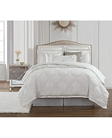 Dianti 4 Piece Queen Comforter Set