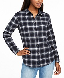 Ovik Cotton Plaid Flannel Shirt