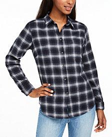 Fjällräven Ovik Cotton Plaid Flannel Shirt