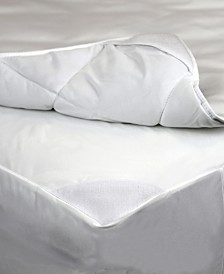 AllerEase 2-in-1 Mattress Pads with Removable Washable Top Pads
