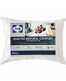 Sealy Quilted Natural Comfort Feather Pillows