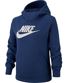 Nike Big Girls Fleece Logo Hoodie