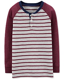 Carter's Little & Big Boys Striped Henley T-Shirt