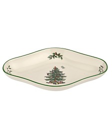 Spode Christmas Tree Diamond Shaped Dish