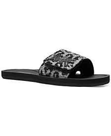 MK Slide Flat Sandals