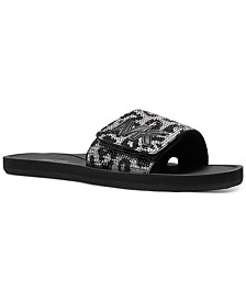 Michael Michael Kors MK Slide Flat Sandals