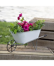 VIP Home & Garden Metal Wheelbarrow