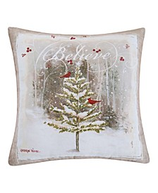 Believe Tree Indoor/Outdoor Pillow