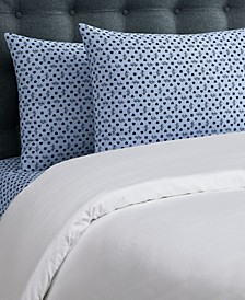 Key Iconic 4-Piece King Microfiber Sheet Set