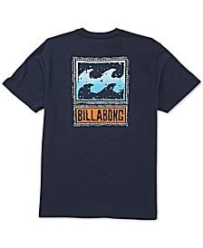 Men's Fifty Wave Logo Graphic T-Shirt