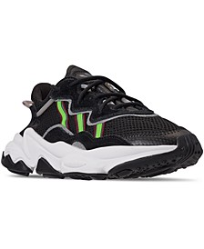 Big Boys' Ozweego Athletic Casual Sneakers from Finish Line