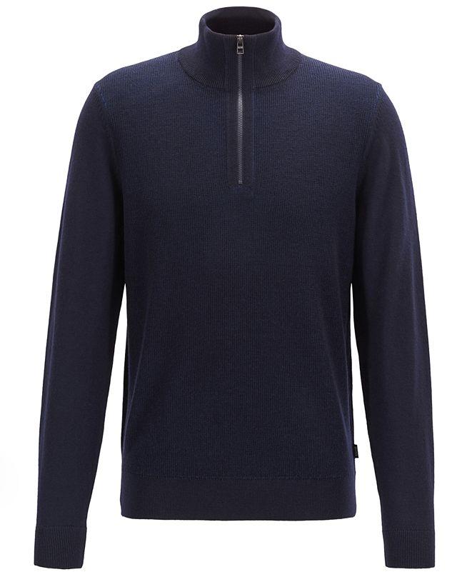Hugo Boss BOSS Men's Bizzino Regular-Fit Sweater