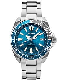 Seiko Men's Automatic Prospex Diver Stainless Steel Bracelet Watch 45mm, A Limited Edition