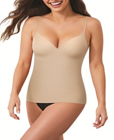 Flexees by Maidenform® Firm Control Wirefree Shapewear Cami with Foam Cups S83070