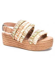 Zuzu Double Band Flatform Sandals
