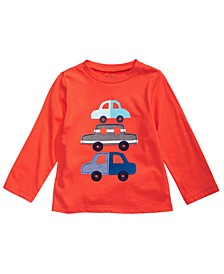 Baby Boys Cotton Cars T-Shirt, Created for Macy's