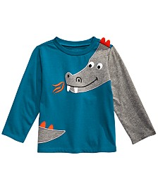 First Impressions Toddler Boys Cotton Dragon T-Shirt, Created For Macy's