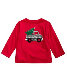 Toddler Boys Festive Truck T-Shirt, Created For Macy's