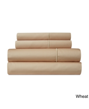 Addy Home Fashions Luxury 1000 Thread Count Cotton Rich Sateen 4-piece Sheet Set Bedding In Wheat