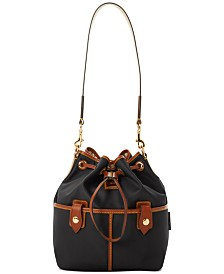 Dooney & Bourke Nylon Drawstring Hobo