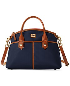 Wayfarer Nylon Domed Satchel