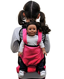 Childs Backpack Doll Carrier, Sleeping Bag Clothes and Accessory Storage