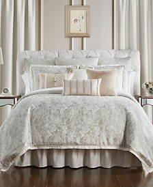 Waterford Belissa Reversible Queen 4 Piece Comforter Set
