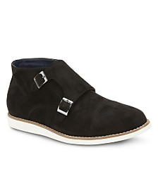 Reserved Footwear Men's The Ballaster Monk Strap Dress Boot