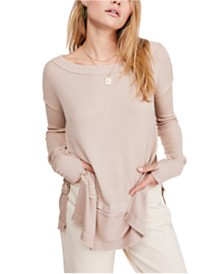 Free People North Shore Thermal Top
