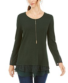 Layered-Look Tunic, Created for Macy's