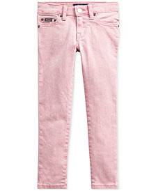 Polo Ralph Lauren Toddler Girls Tompkins Skinny-Fit Jeans