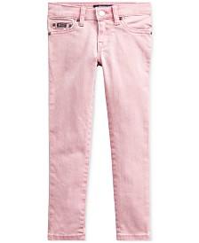 Polo Ralph Lauren Little Girls Tompkins Skinny-Fit Jeans