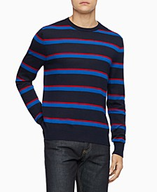 Men's Bi-Color Striped Sweater