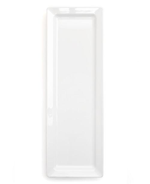 Q Squared Diamond White Sandwich Platter