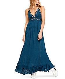 Free People Adella Lace Maxi Dress