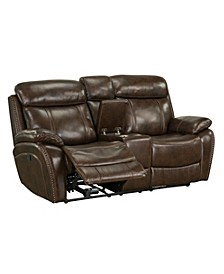 Edmond Manual Motion Reclining Loveseat