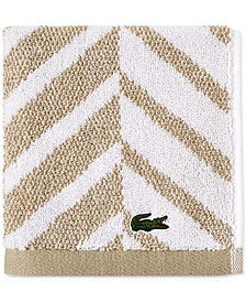 "Herringbone Cotton 13"" x 13"" Washcloth"