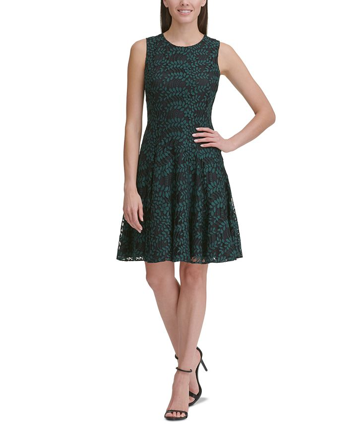 Tommy Hilfiger - Woodstock Lace Fit & Flare Dress