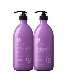 Luseta Beauty Curl Enhancing Coconut Oil Shampoo & Conditioner Set 67.6 Ounces
