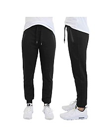 AgCaton French Terry Joggers with Zipper Pockets