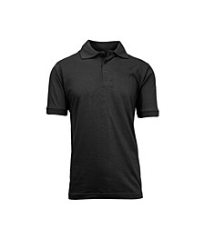 Men's Short Sleeve Pique Polo Shirts