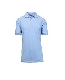 Men's Short Sleeve Pique Polo Shirts