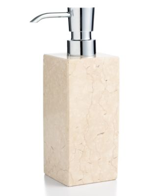 CLOSEOUT Hotel Collection Marble Soap and Lotion Dispenser
