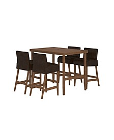 Outdoor Living Smartwick 5-Piece Patio Dining Set