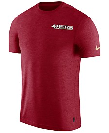 Nike Men's San Francisco 49ers Coaches T-Shirt